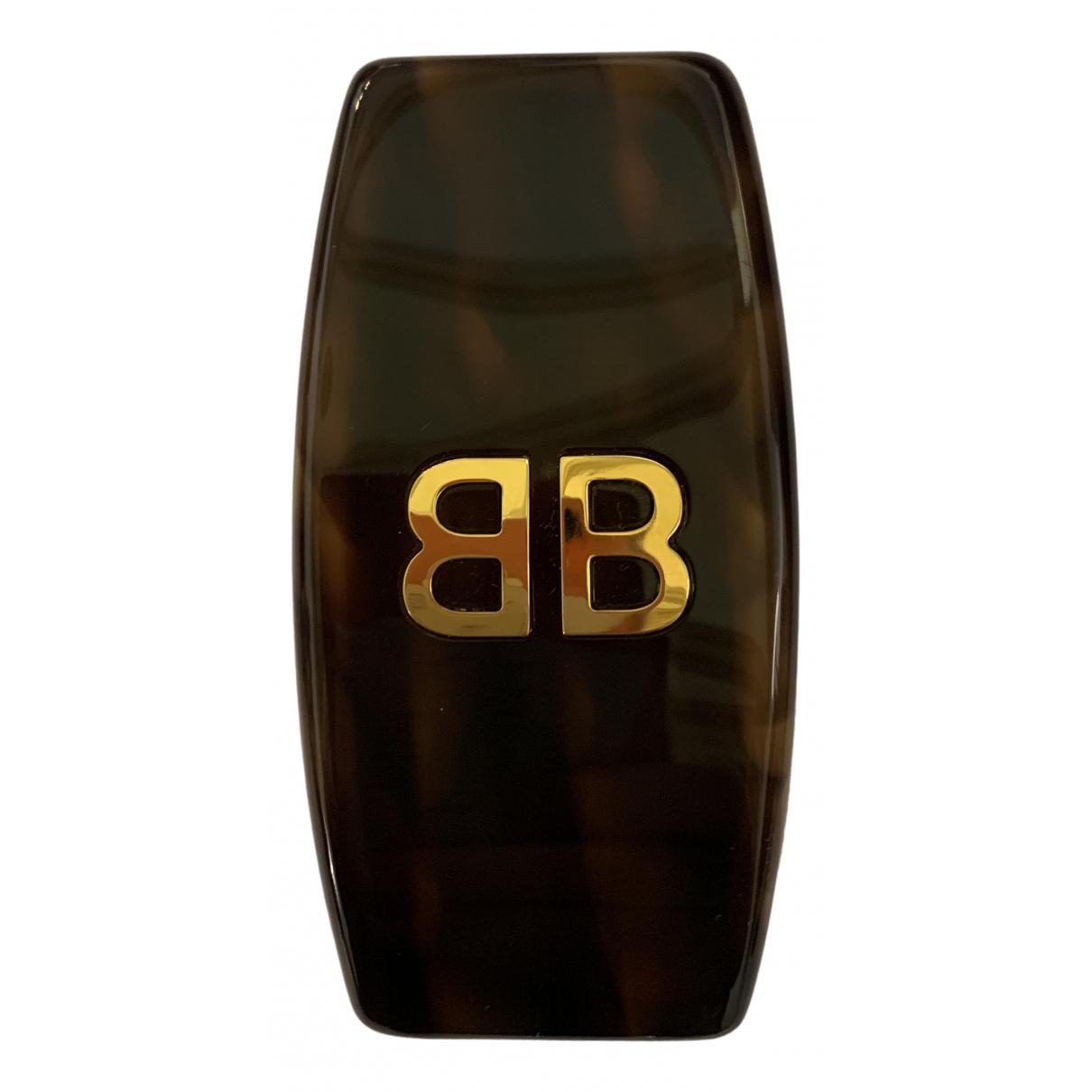 Balenciaga - Boucles doreilles   pour femme - marron