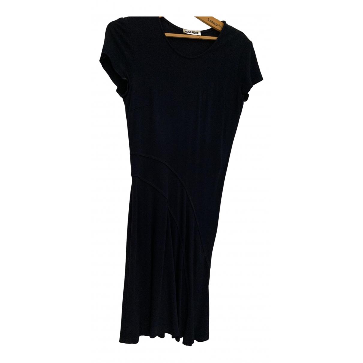 Jil Sander - Robe   pour femme - bleu