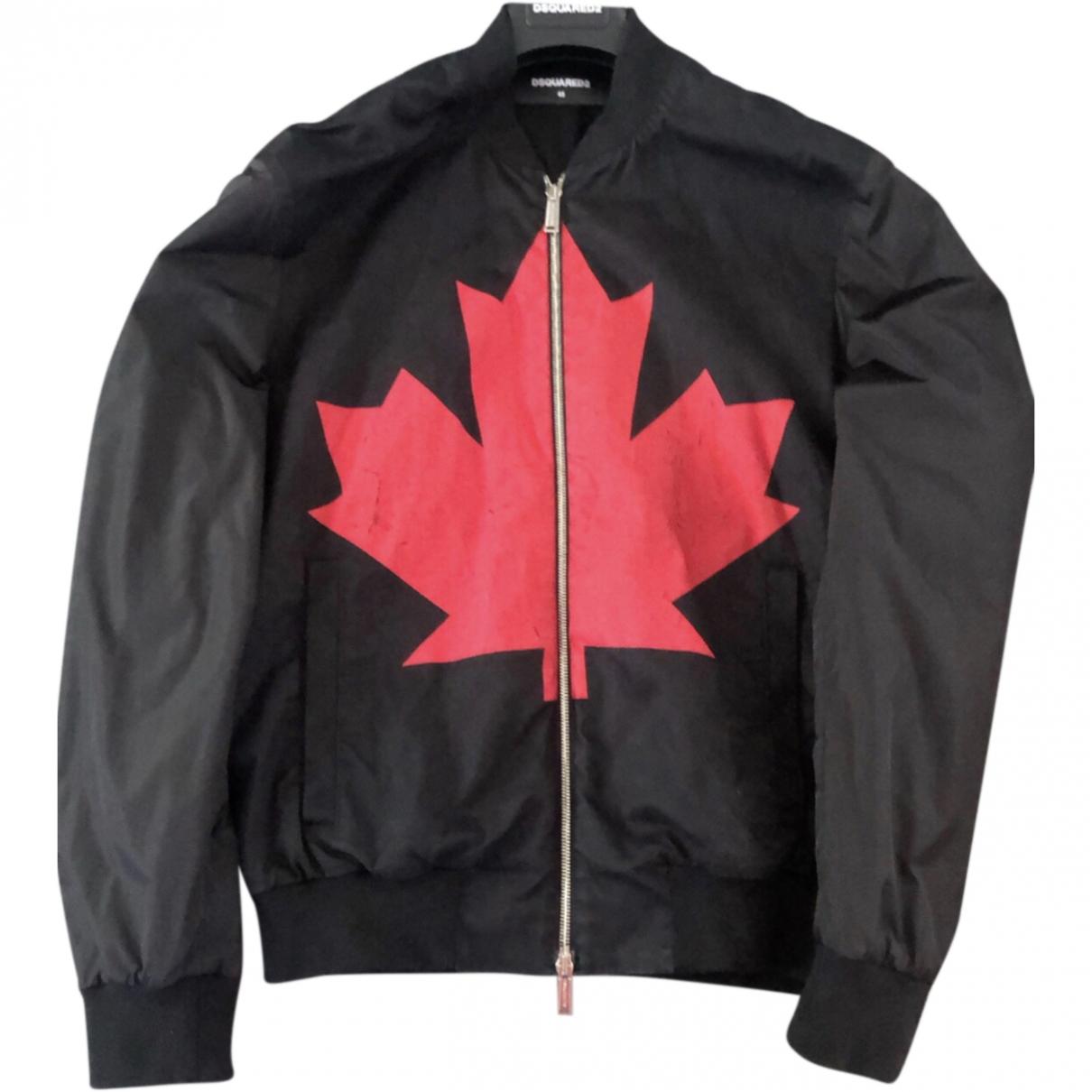 Dsquared2 \N Black Cotton jacket  for Men M International