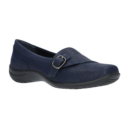 Easy Street Womens Cinnamon Slip-On Shoe, 10 Medium, Blue