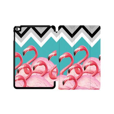 Apple iPad mini 4 Tablet Smart Case - Flamingo Pattern von Mark Ashkenazi