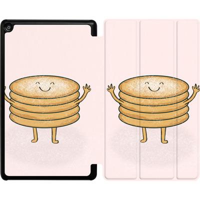 Amazon Fire HD 8 (2017) Tablet Smart Case - Pancake-man with Sugar von caseable Designs