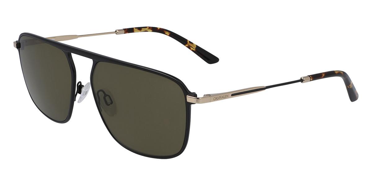 Calvin Klein CK20137S 002 Mens Sunglasses Black Size 58