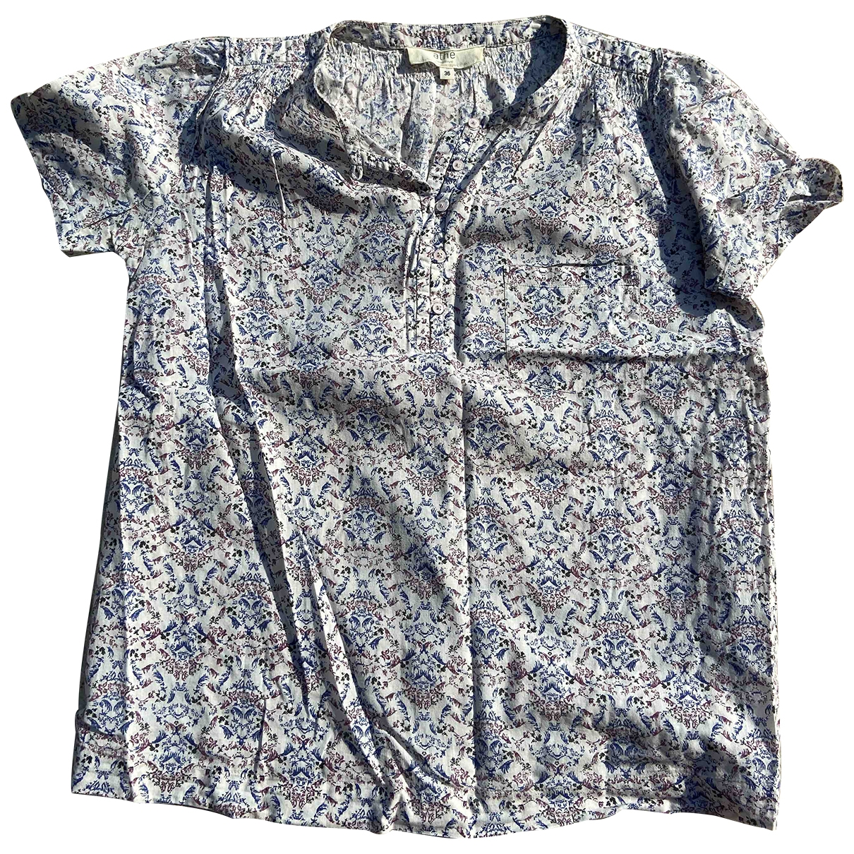 Vanessa Bruno Athe \N Blue Cotton  top for Women 36 FR