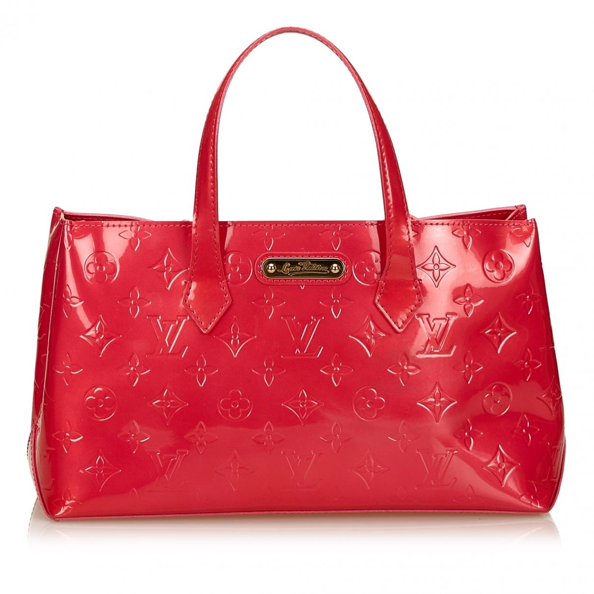 Louis Vuitton Wilshire Pink Leather handbag for Women \N