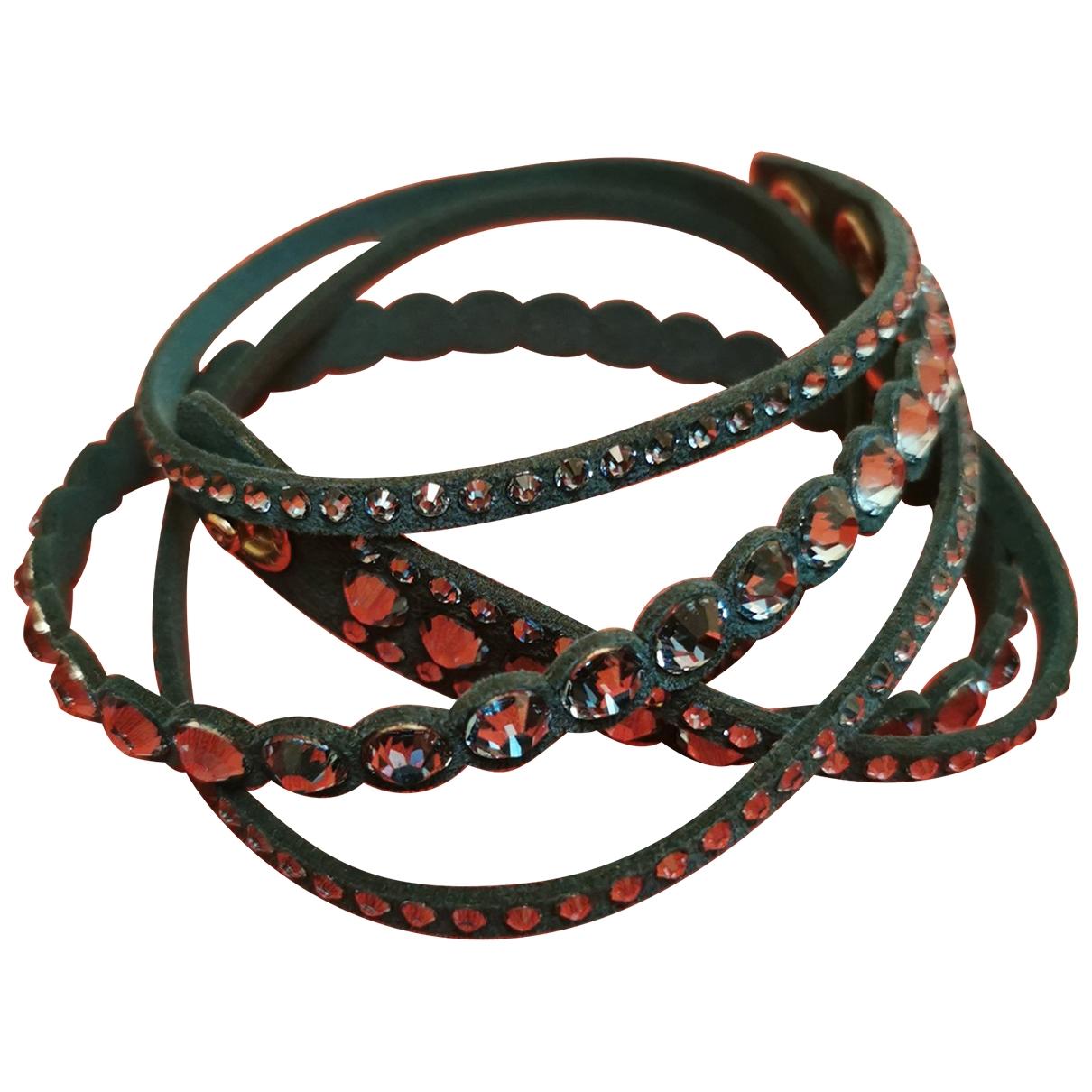 Swarovski - Bracelet Slake pour femme en toile - turquoise