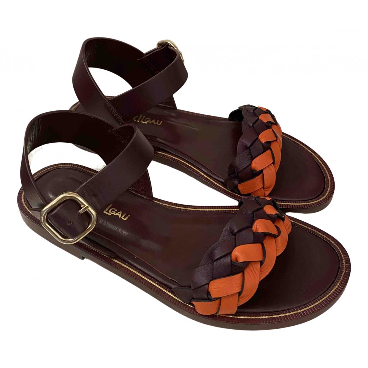 Sandalias de Cuero Avril Gau