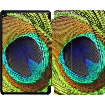 Amazon Fire HD 8 (2017) Tablet Smart Case - Peacock von Mark Ashkenazi