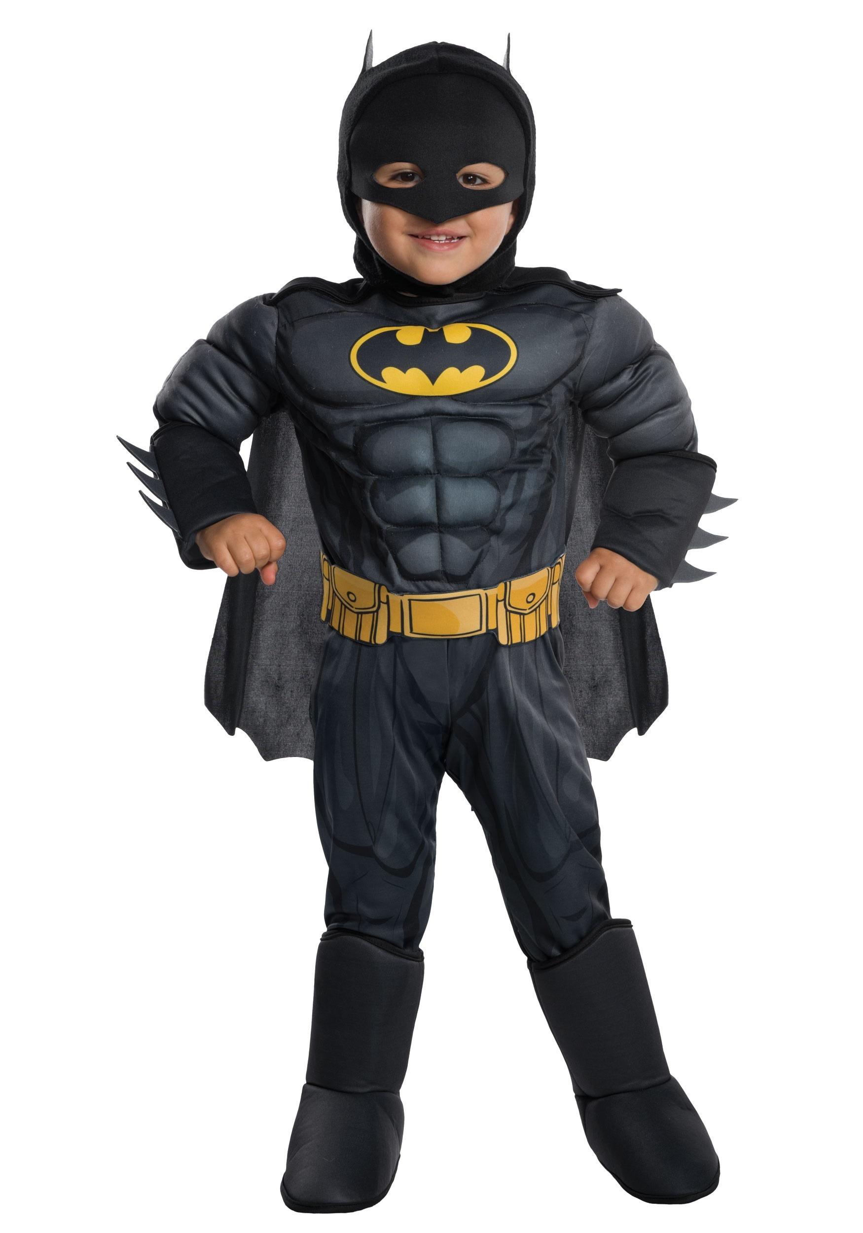 Batman Deluxe Costume for Toddlers   Toddler Superhero Costume