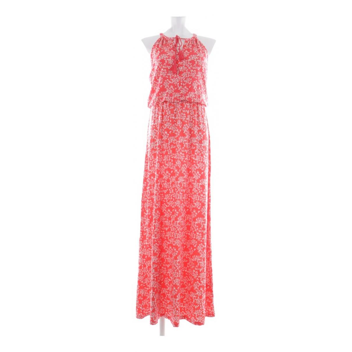 Rachel Zoe \N Kleid in  Rot Baumwolle