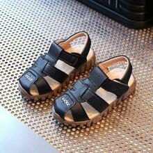 Toddler Boys Round Toe Slingback Sandals