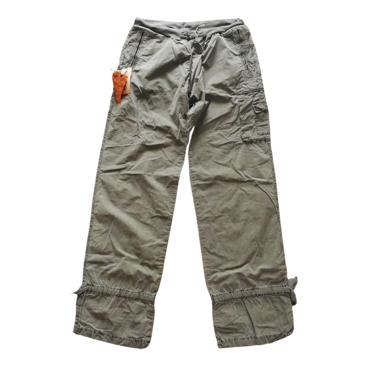 Napapijri - Pantalon   pour homme en coton - vert