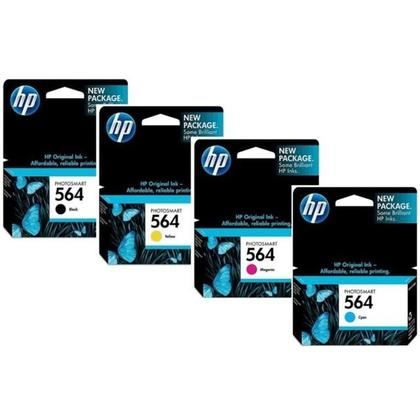 HP 564 Original Ink Cartridge Combo BK/C/M/Y