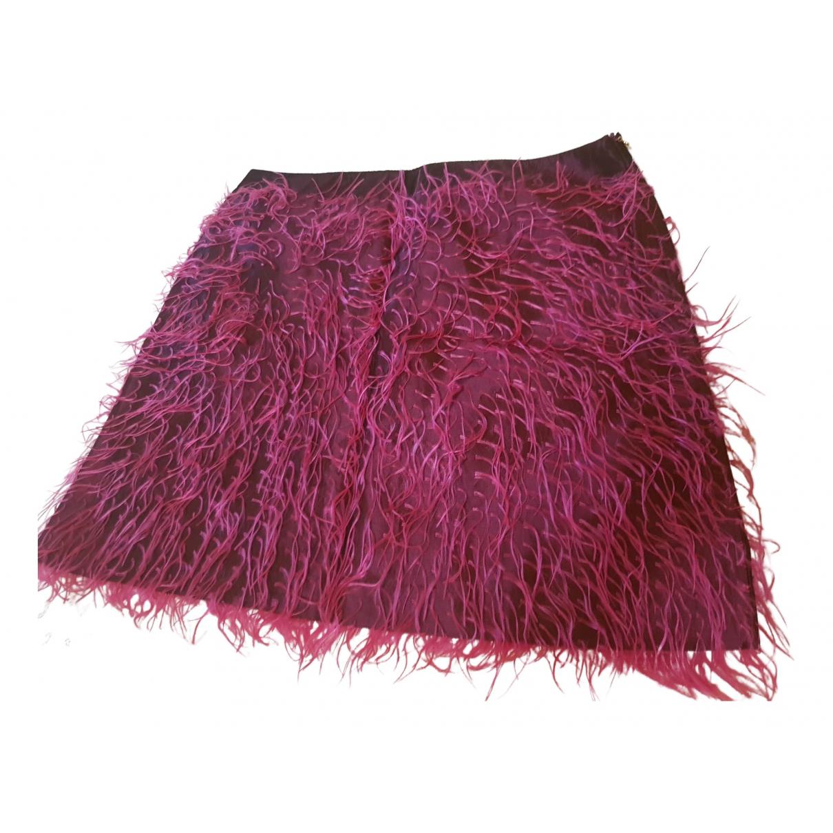 Versace Jeans \N Rocke in  Lila Synthetik