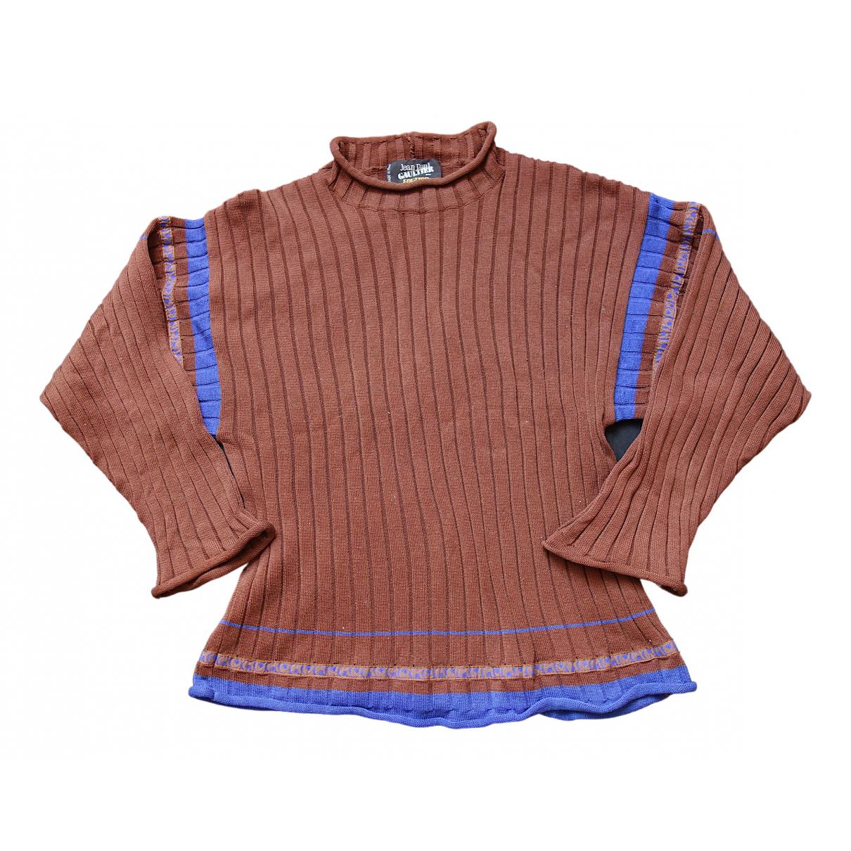 Jean Paul Gaultier \N Brown Cotton Knitwear for Women M International