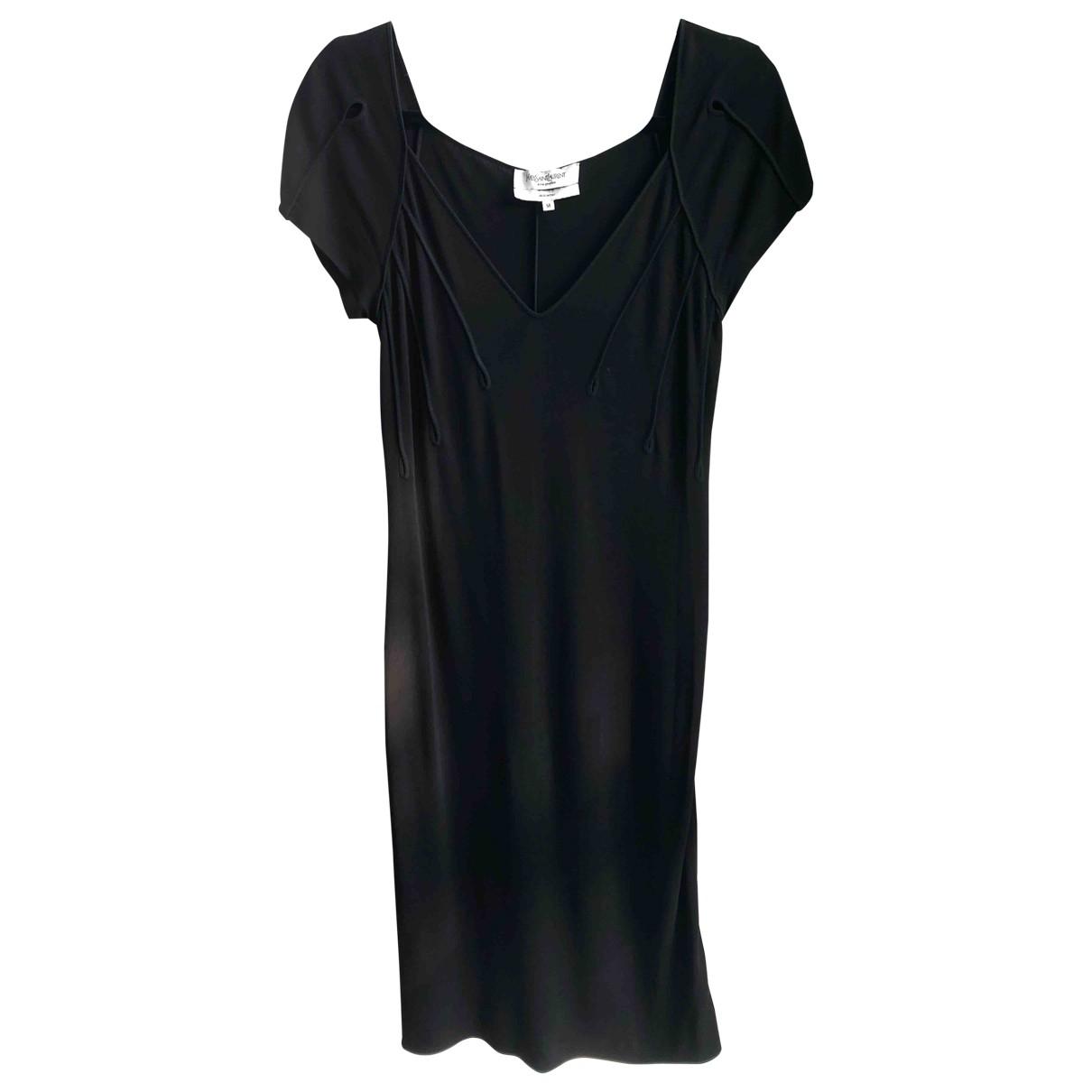 Yves Saint Laurent \N Black dress for Women M International