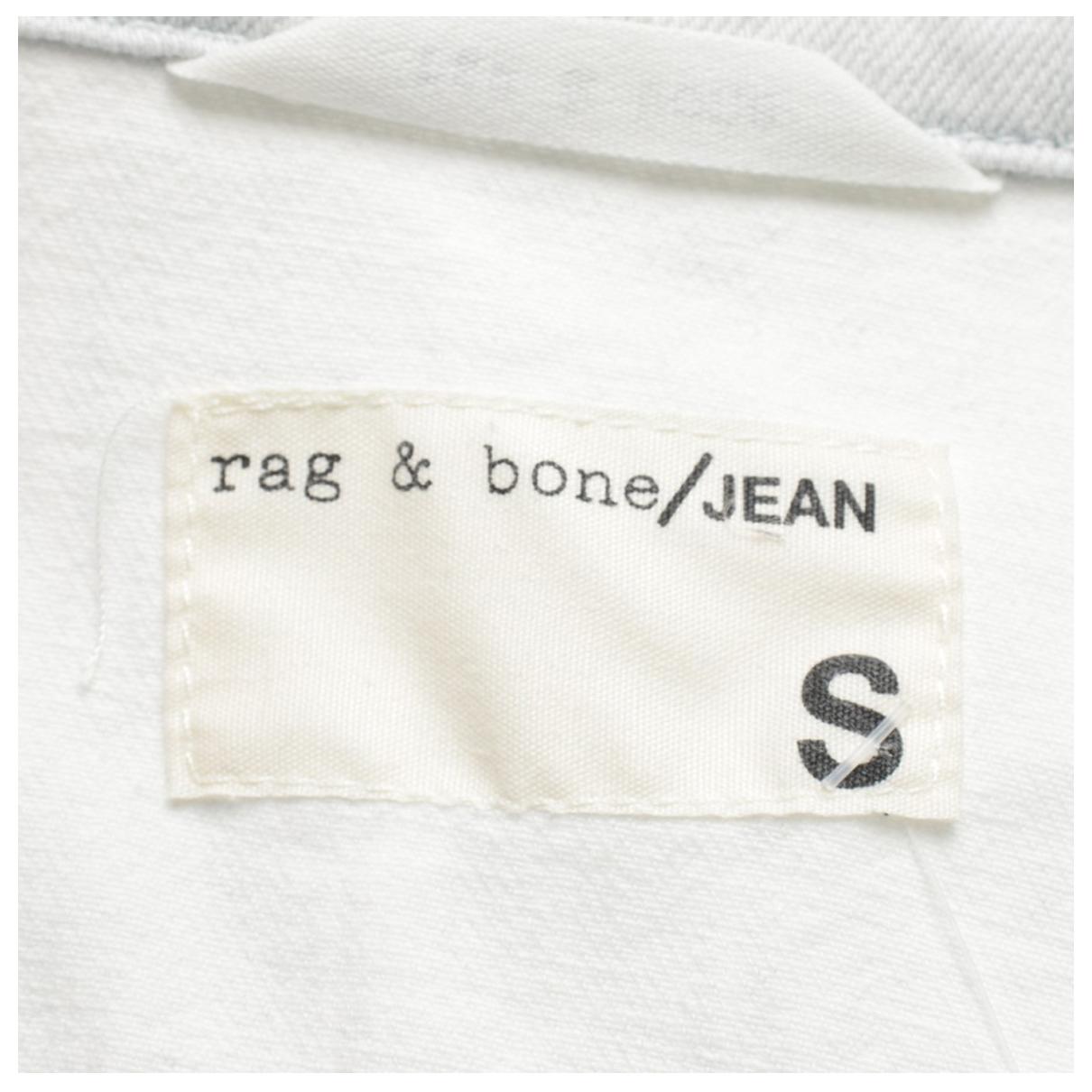 Rag & Bone - Veste   pour femme en coton - bleu