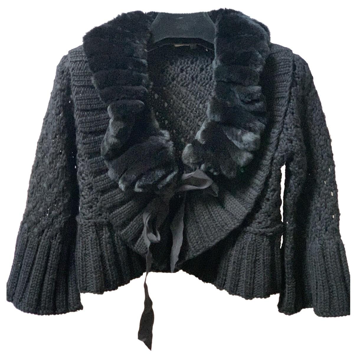 Sport Max - Pull   pour femme en laine - noir