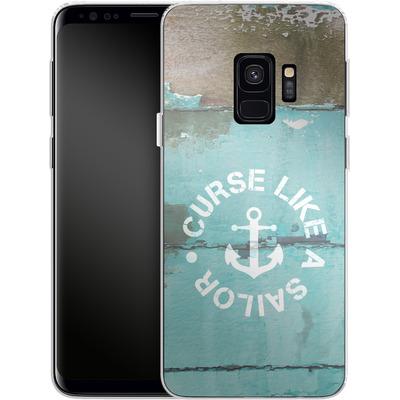 Samsung Galaxy S9 Silikon Handyhuelle - Curse Like A Sailor von Statements