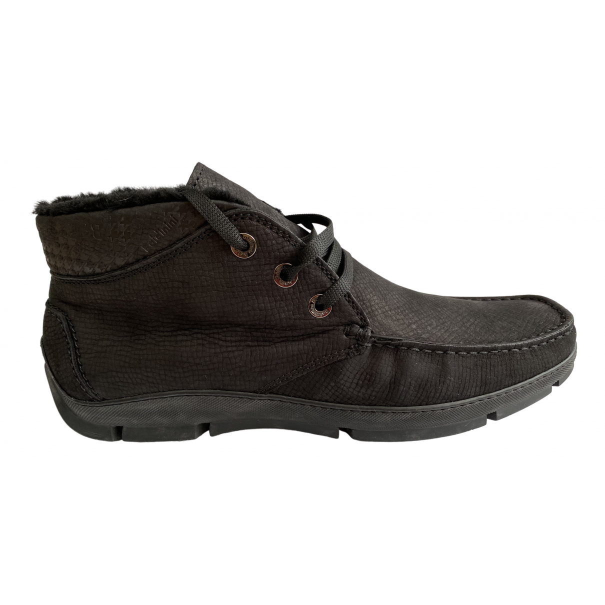 Baldinini \N Stiefel in  Schwarz Leder