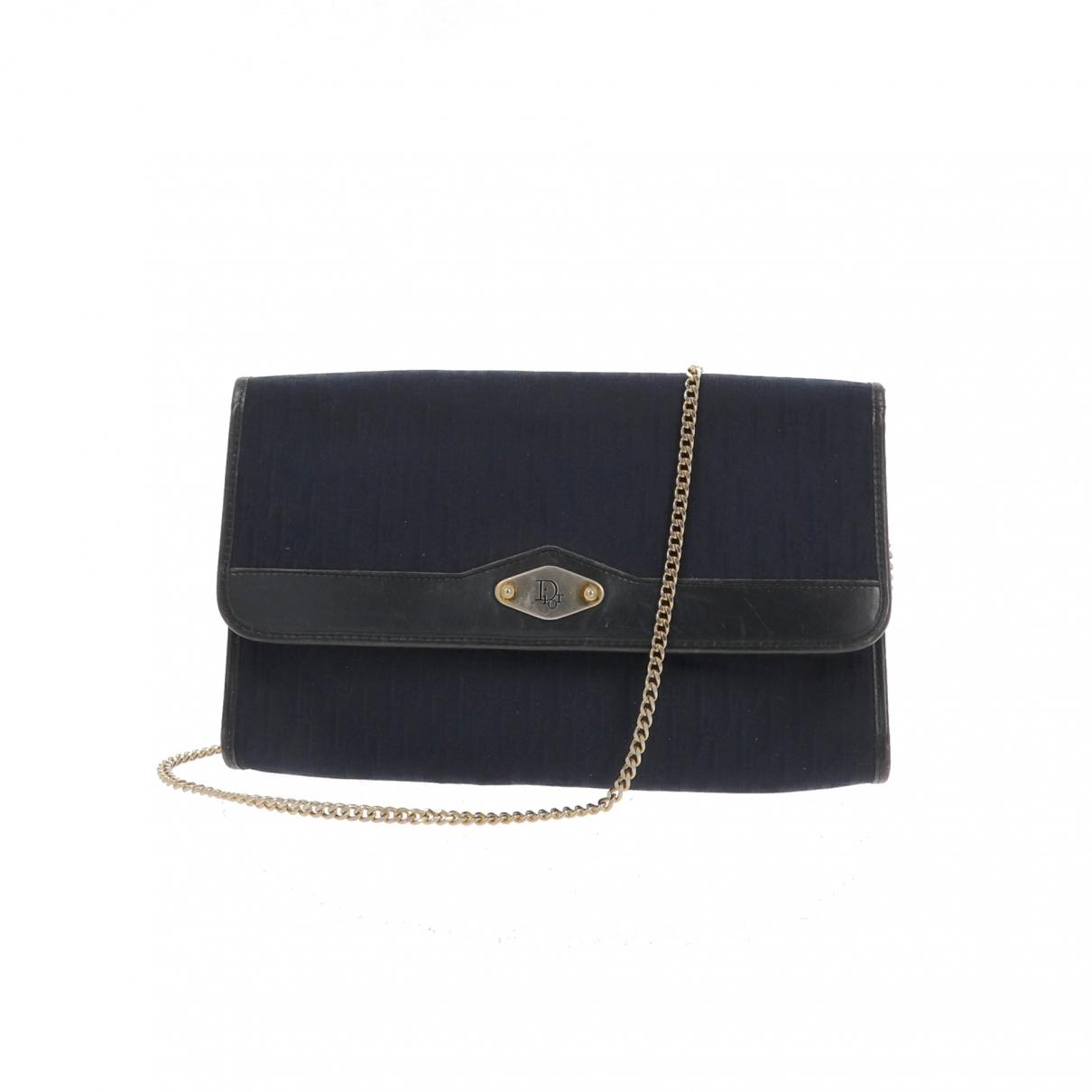 Dior - Pochette   pour femme en toile - bleu