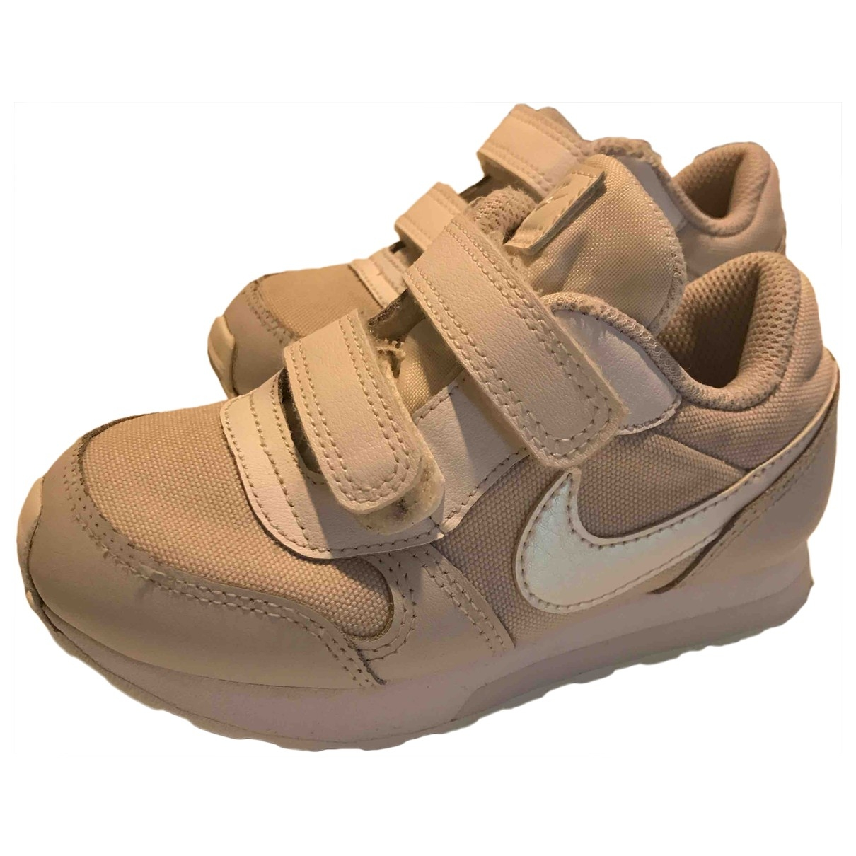 Nike \N White Cloth Trainers for Kids 26 EU