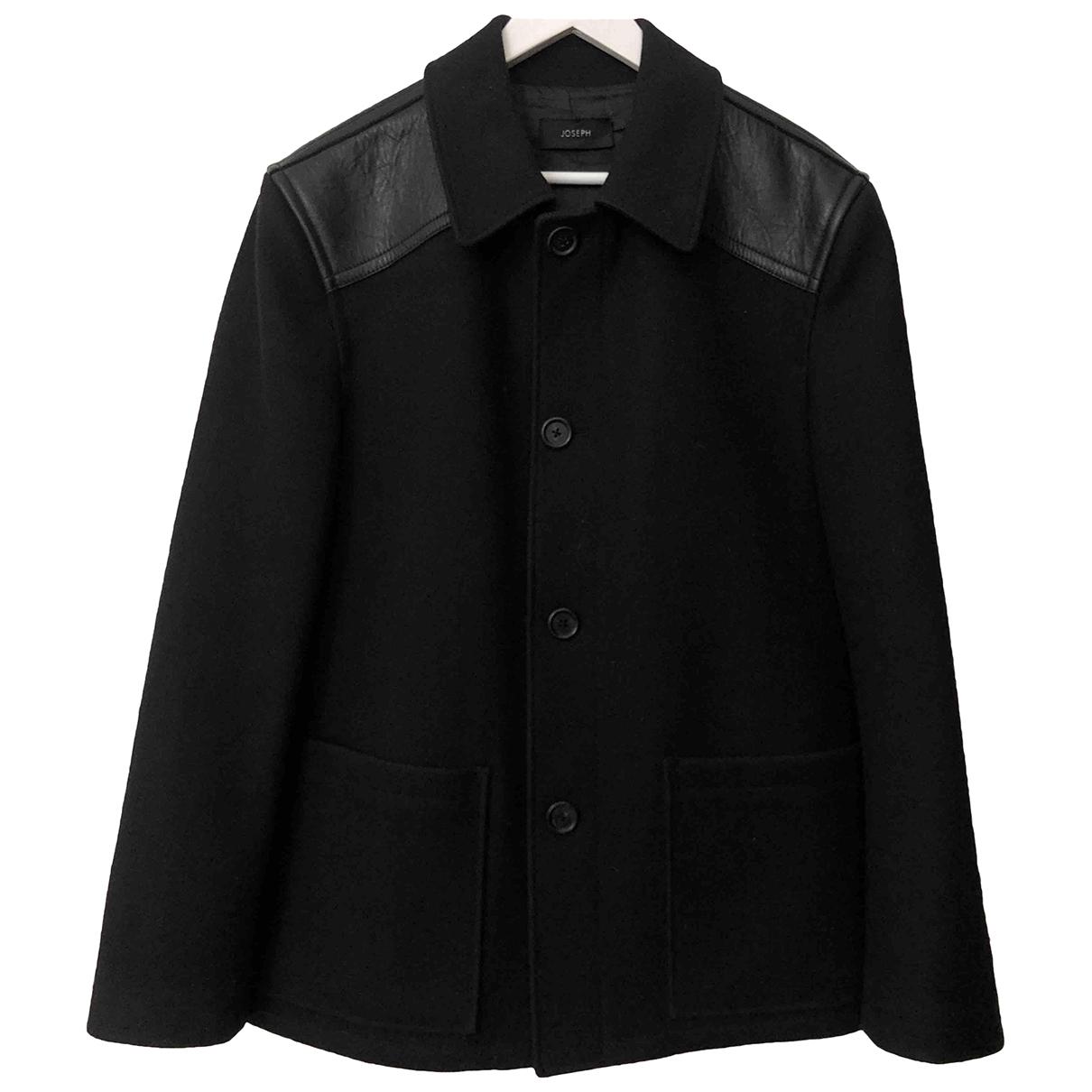 Joseph - Manteau   pour homme en laine - noir