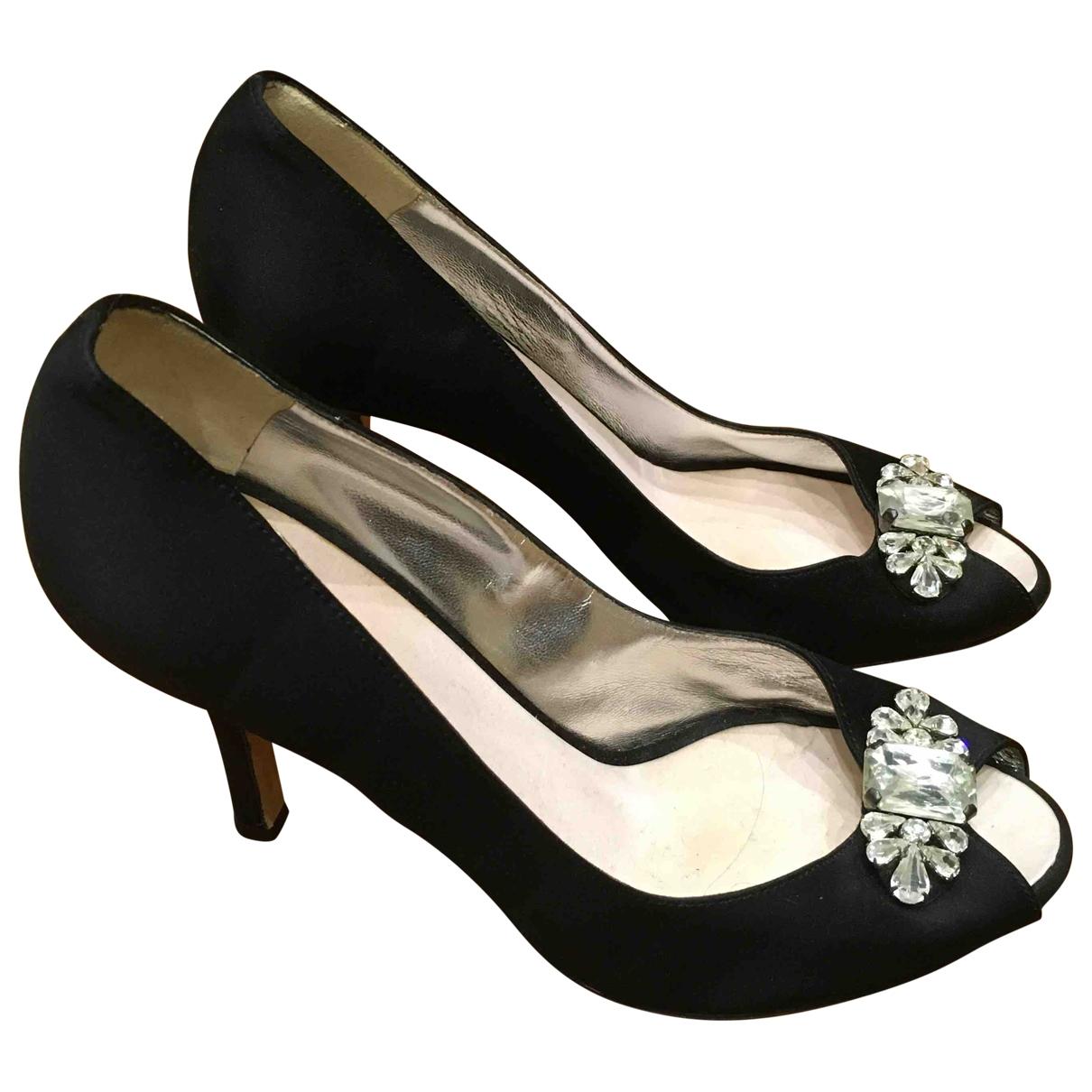 Dsquared2 \N Black Suede Heels for Women 38 EU