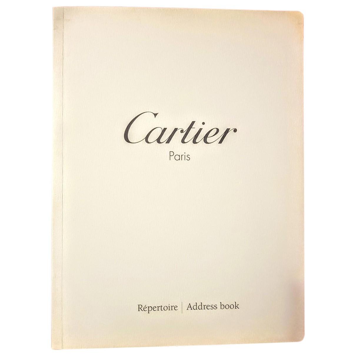 Cartier - Objets & Deco   pour lifestyle en toile - blanc
