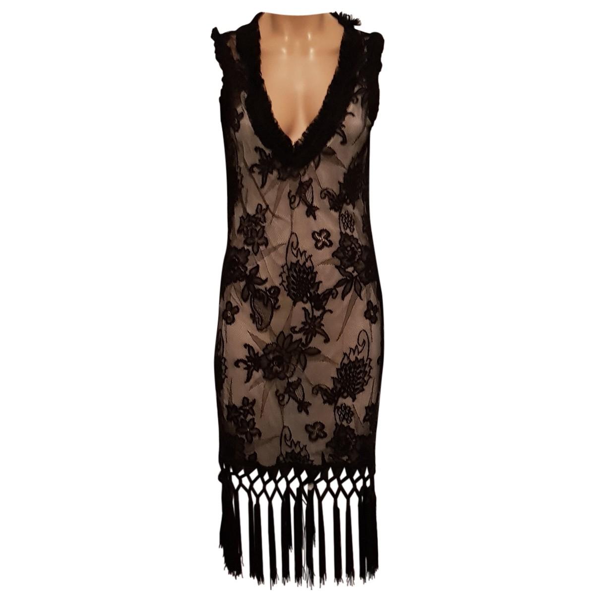 Moschino Love \N Kleid in  Schwarz Synthetik