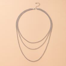 Simple Layered Chain Necklace