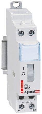 Legrand Contactor - 16 A, 24 V ac Coil
