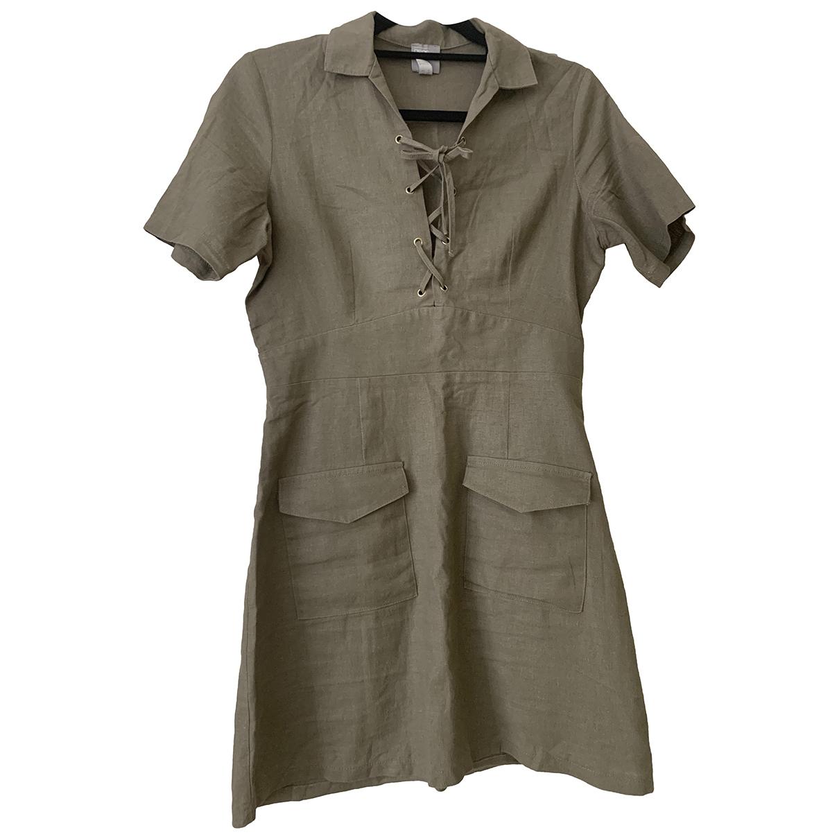 Mini vestido de Lino Asos