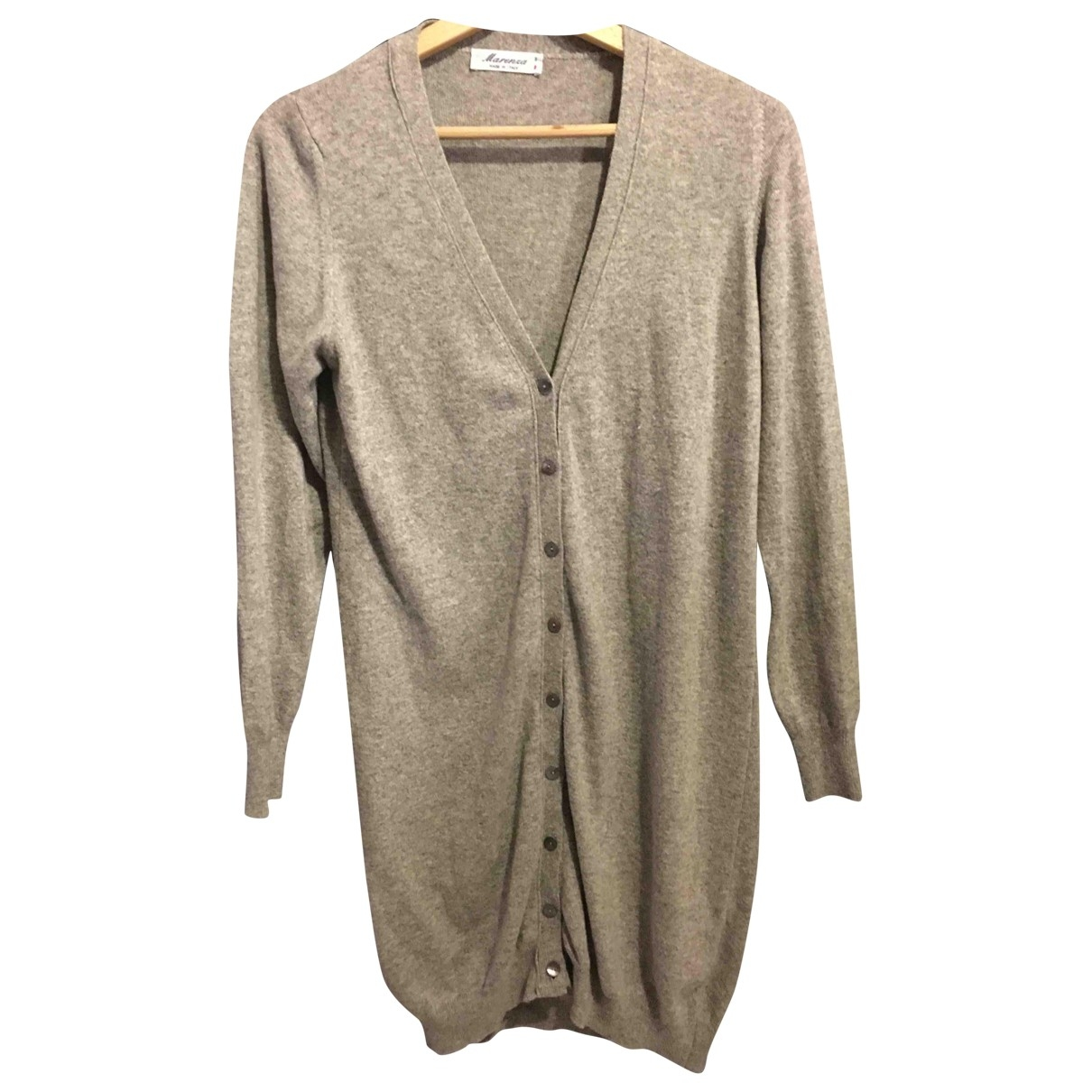 Non Signé / Unsigned \N Grey Knitwear for Women M International