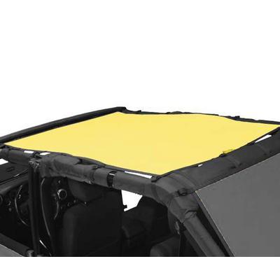 DirtyDog 4x4 Safari Sun Screen (Yellow) - J4SS07S1YL