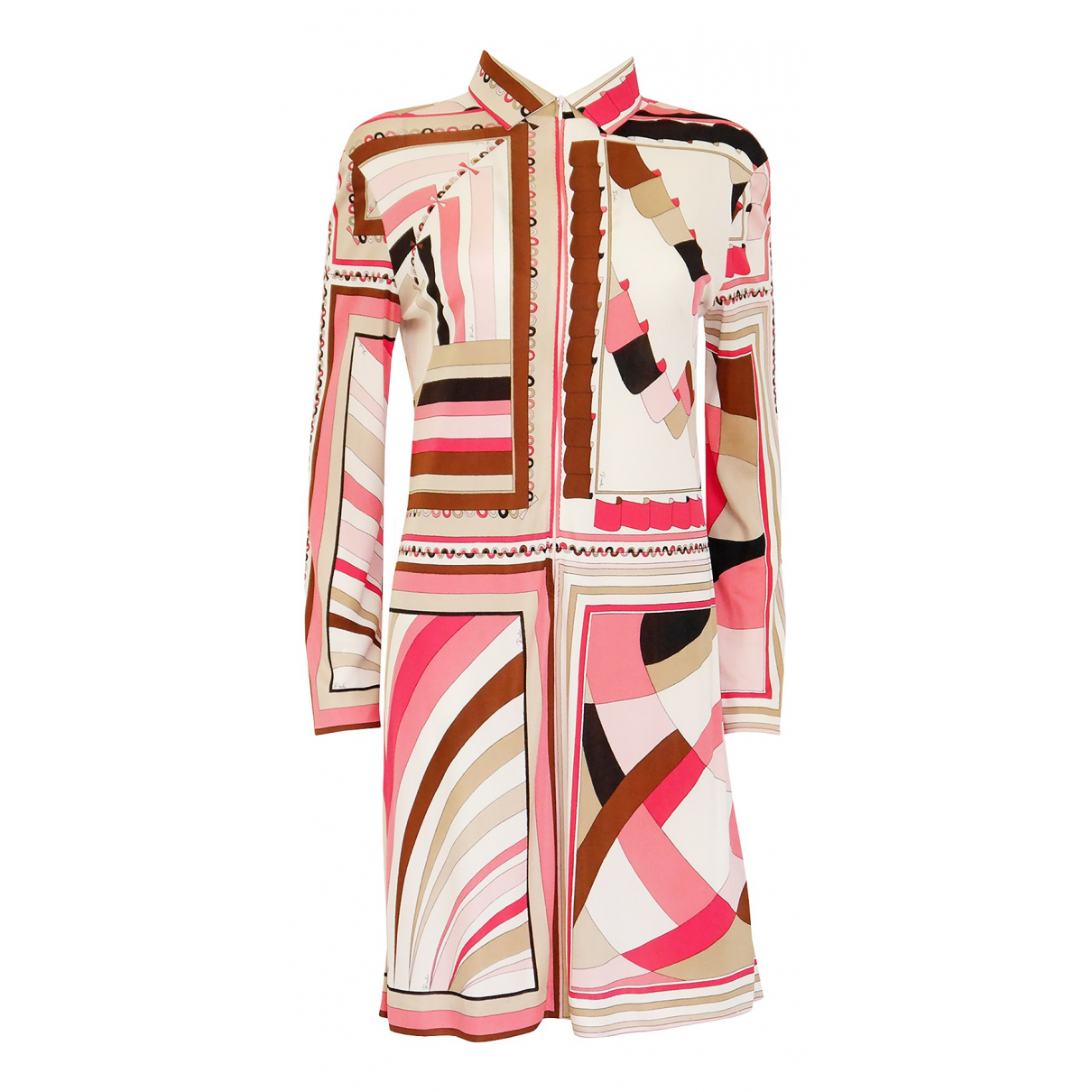 Emilio Pucci \N Multicolour Silk dress for Women L International