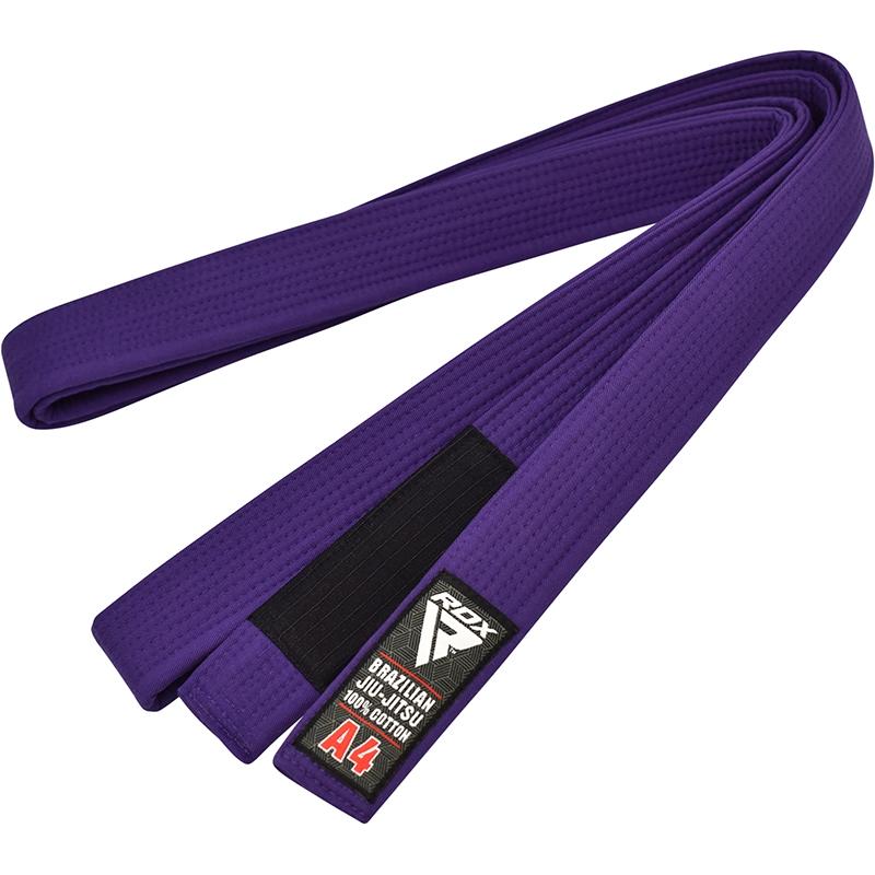 RDX 1P Cinturon de BJJ Jiu Jitsu Algodon Marron A0