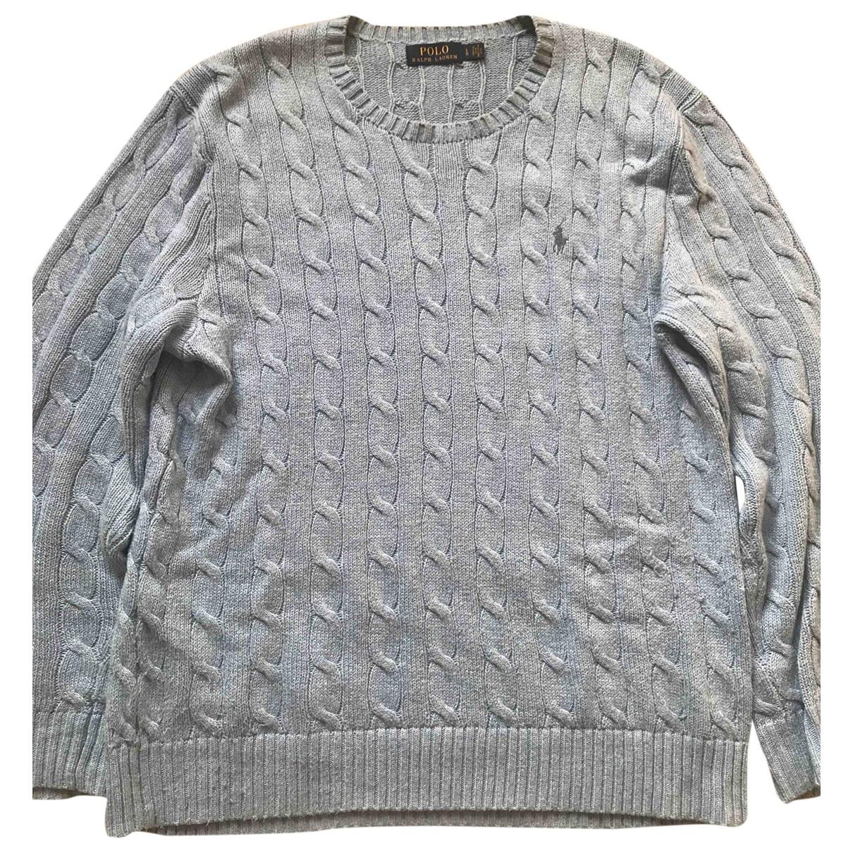 Polo Ralph Lauren \N Pullover.Westen.Sweatshirts  in  Blau Baumwolle