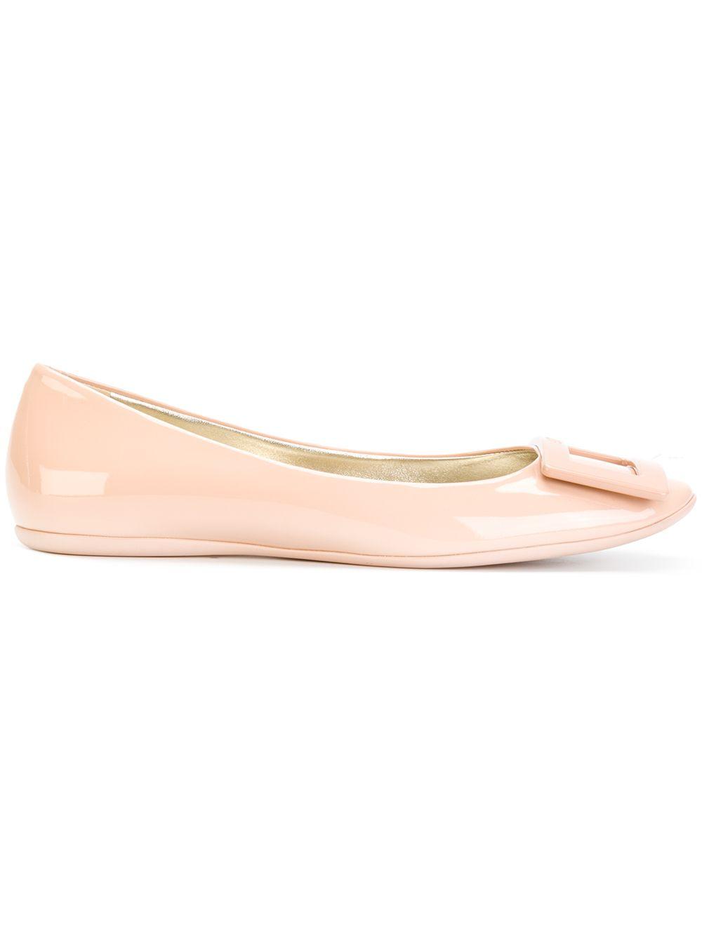 Gommette Leather Ballets