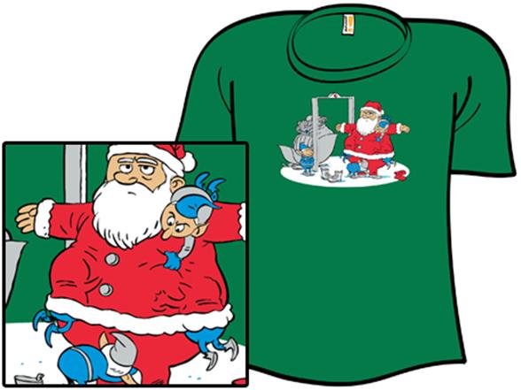 Tsanta Claus T Shirt