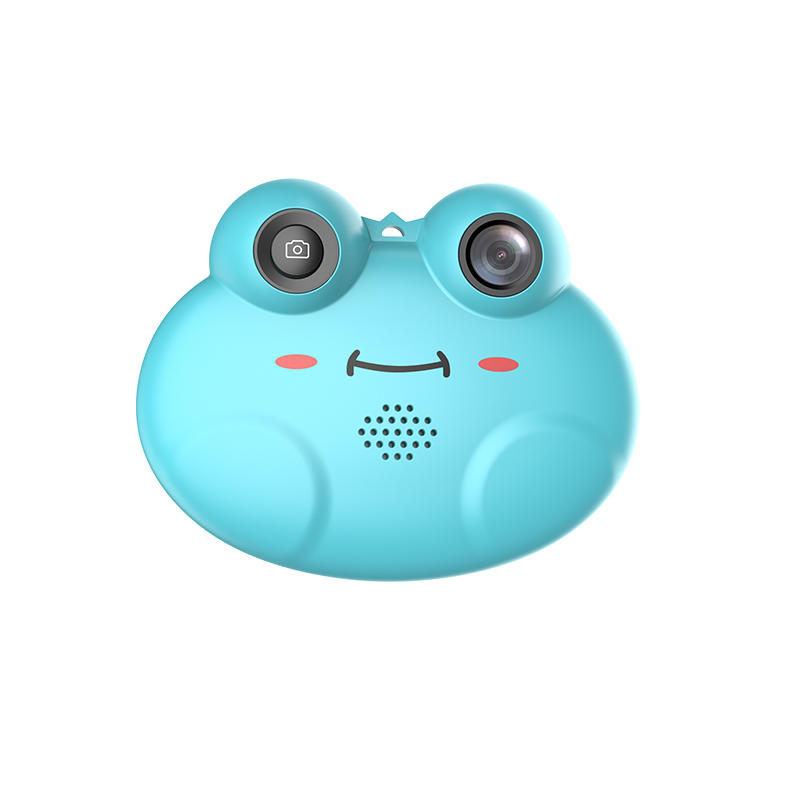 K5 Frog Mini Portable Rechargeable Kids Camera with 1.54 Inch IPS Screen