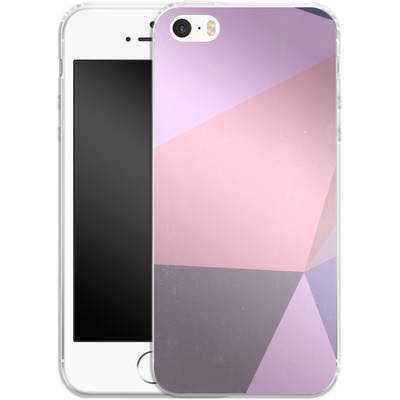 Apple iPhone SE Silikon Handyhuelle - Sweet Collage von Emanuela Carratoni