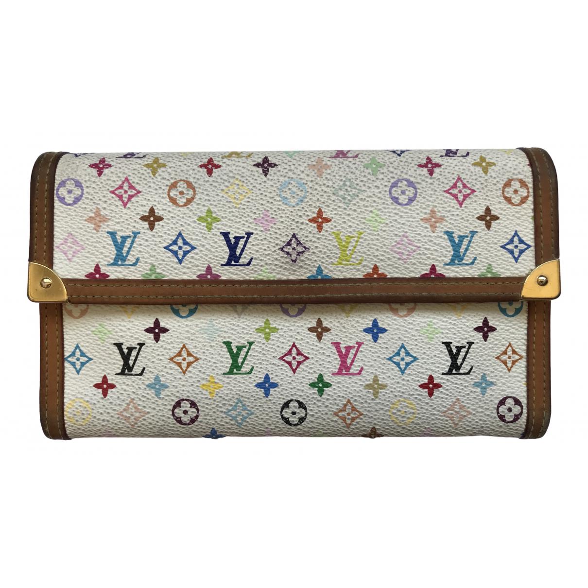 Louis Vuitton - Petite maroquinerie   pour femme en toile - multicolore