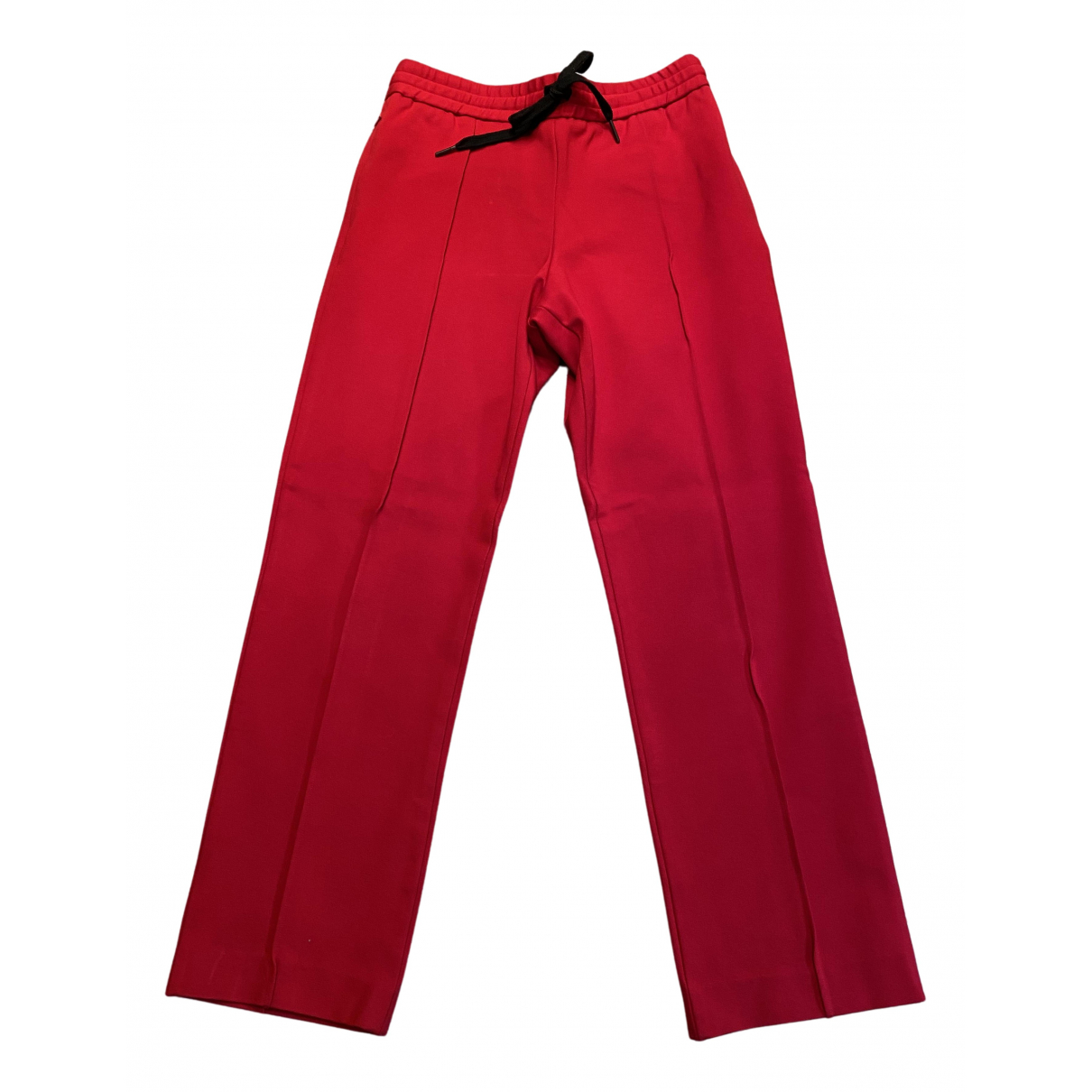 Bimba Y Lola N Red Trousers for Women 38 FR