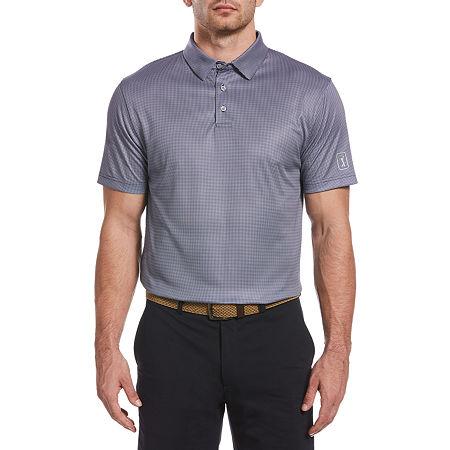PGA TOUR Mens Short Sleeve Polo Shirt Big and Tall, 4x-large Tall , Blue