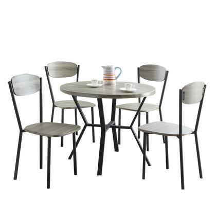 BM157886 5-Piece Round Dining Table &