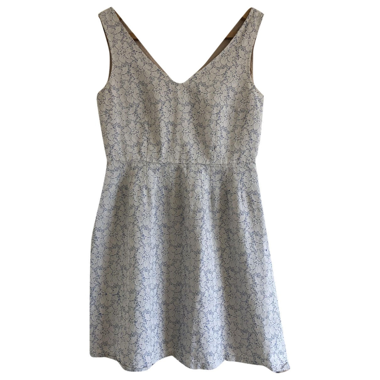 Max & Co - Robe   pour femme en coton - blanc