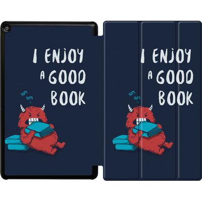 Amazon Fire HD 10 (2017) Tablet Smart Case - Good Book von Little Clyde
