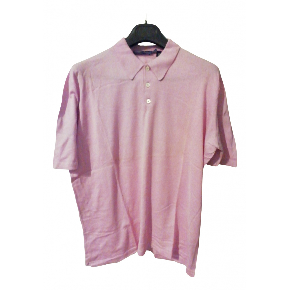 Ralph Lauren Purple Label \N Pullover.Westen.Sweatshirts  in  Rosa Baumwolle