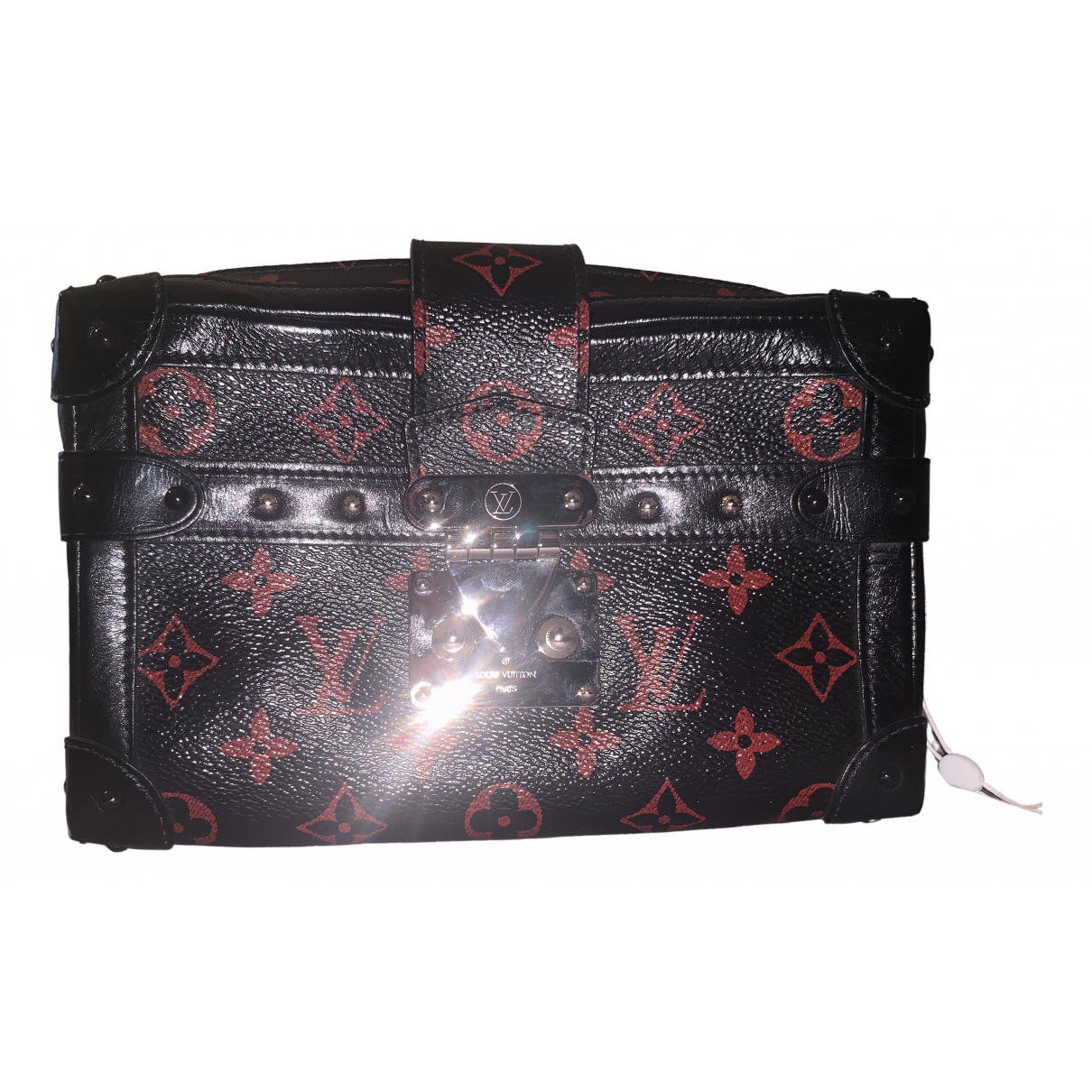 Louis Vuitton Malle Trunk Black Cloth bag for Men \N